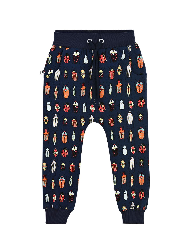 Купить Спортивные брюки с принтом Жуки Zombie Dash детские, Мультиколор, 95%хлопок+5%эластан