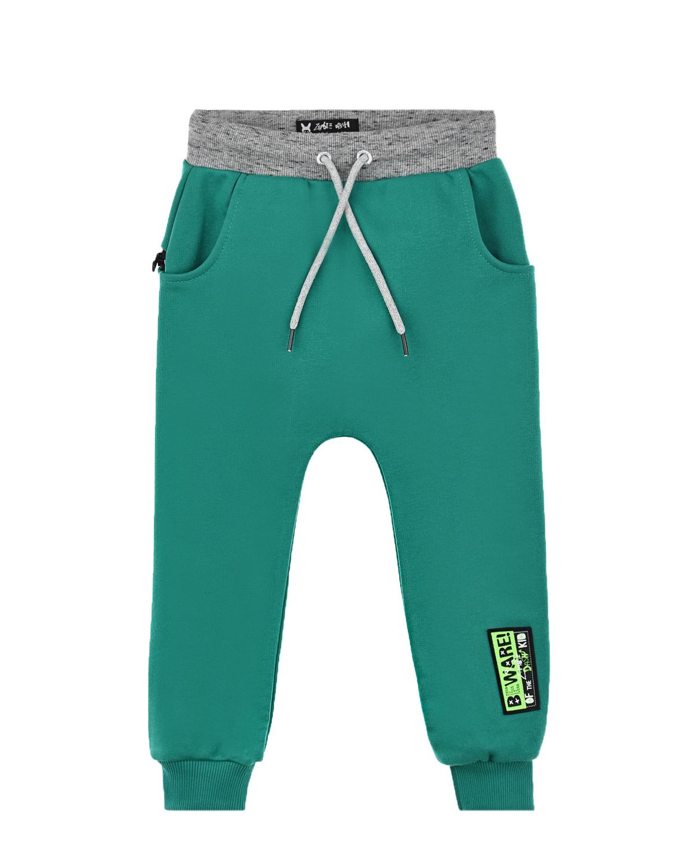 Купить Спортивные брюки зеленого цвета Zombie Dash детские, Зеленый, 90%хлопок+10%полиэстер