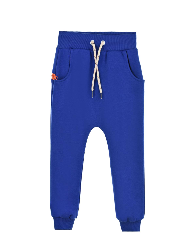 Купить Синие спортивные брюки Zombie Dash детские, Черный, 90%хлопок+10%полиэстер