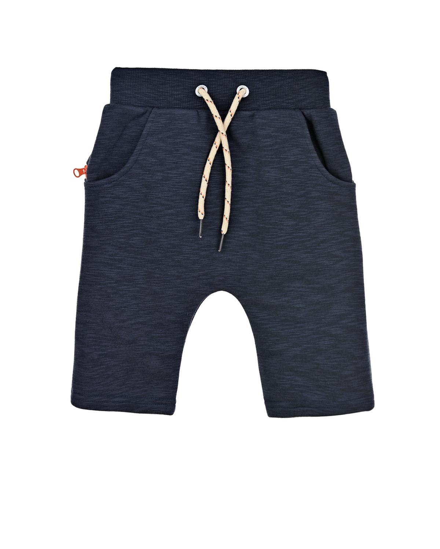 Купить Синие трикотажные шорты Zombie Dash детские, Черный, 90%хлопок+10%полиэстер