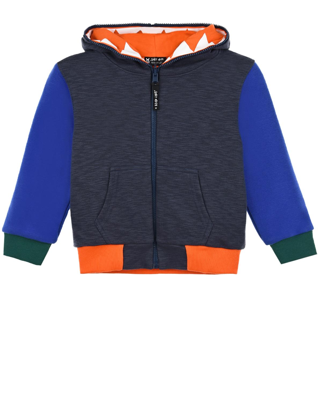 Купить Двухсторонняя спортивная куртка Zombie Dash детская, Мультиколор, 90%хлопок+10%полиэстер