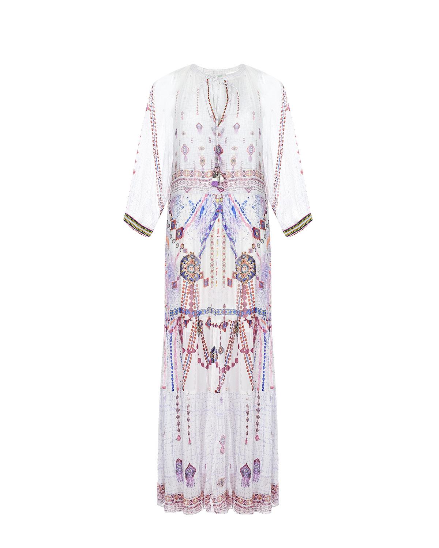 Купить Приталенное платье с декольте Camilla