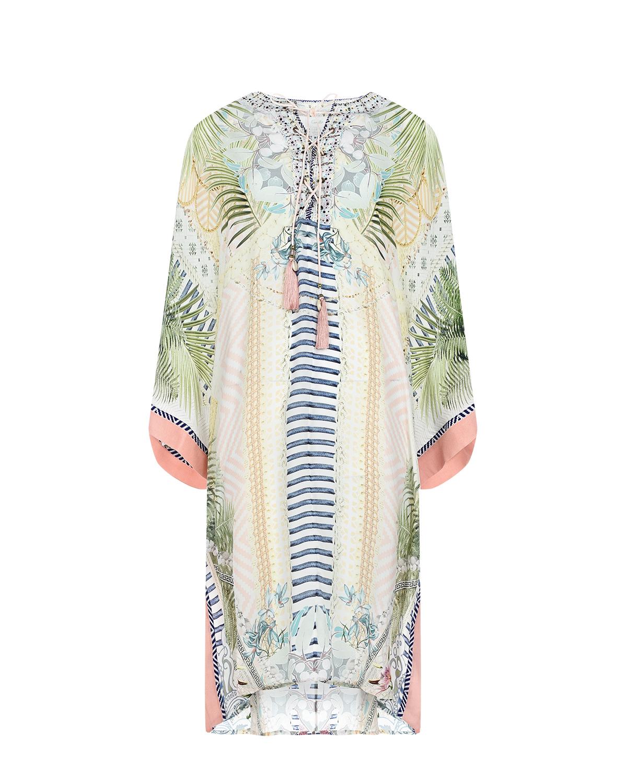 Купить Платье с вырезом на шнуровке Camilla