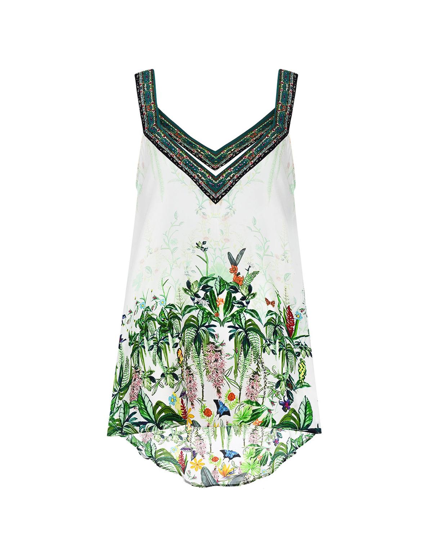 Купить Мини-платье с цветочным принтом Camilla
