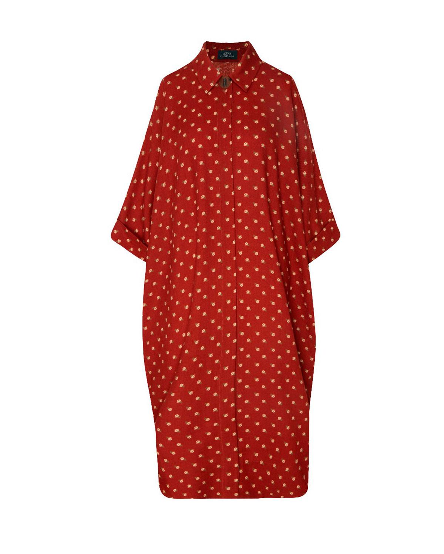 Платье-рубашка с цветочным принтом Alena Akhmadullina фото