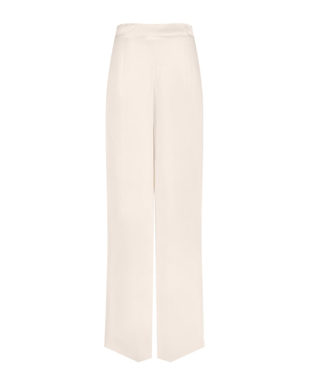 Белые прямые брюки TWINSET фото