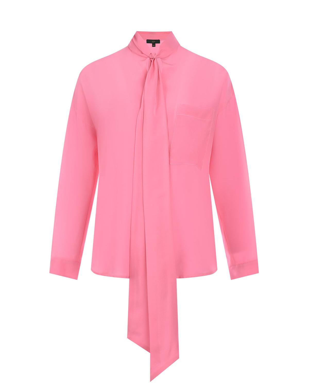 Купить Шелковая блузка с воротом аскот Jejia