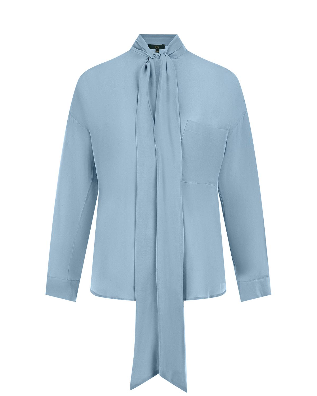 Шелковая блуза с воротом аскот Jejia