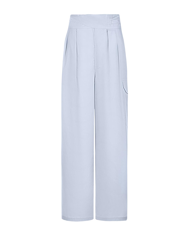 Широкие брюки из хлопка с защипами Jejia фото