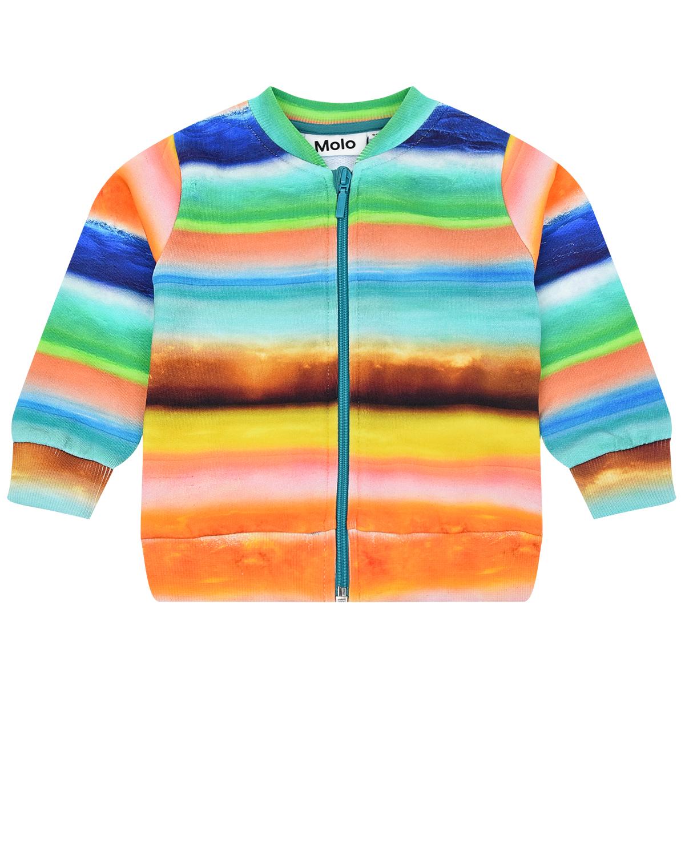 Куртка спортивная Duff Sunset Stripe Molo детская фото