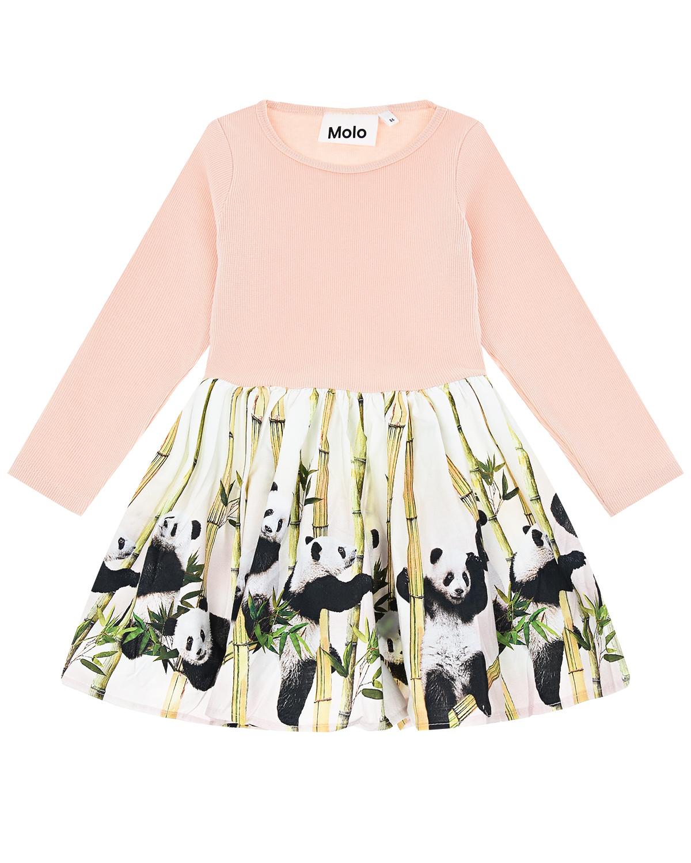 Купить Платье Candi Panda Party Molo детское, Нет цвета, 96%хлопок+4%эластан, 100%хлопок