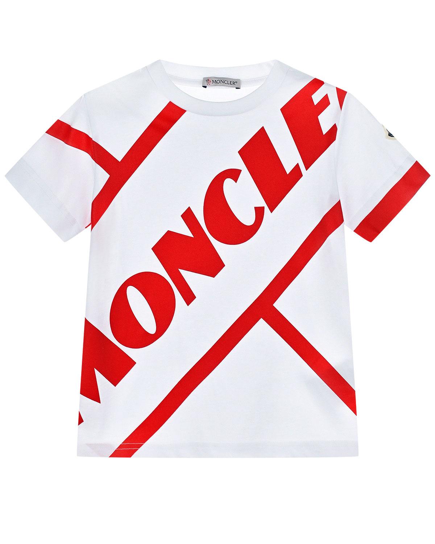 футболка moncler для мальчика