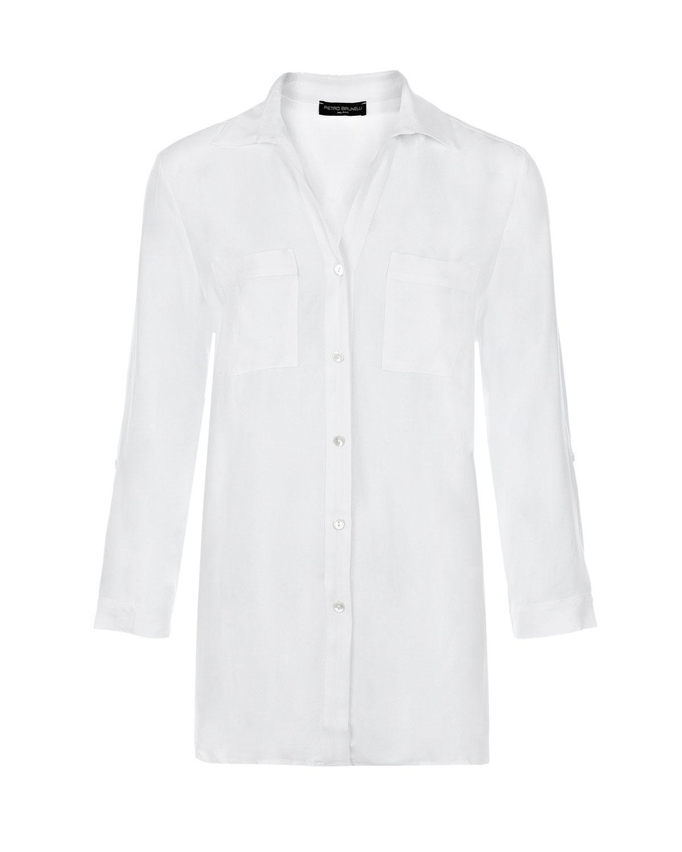 Рубашка для беременных с накладными карманами Pietro Brunelli фото