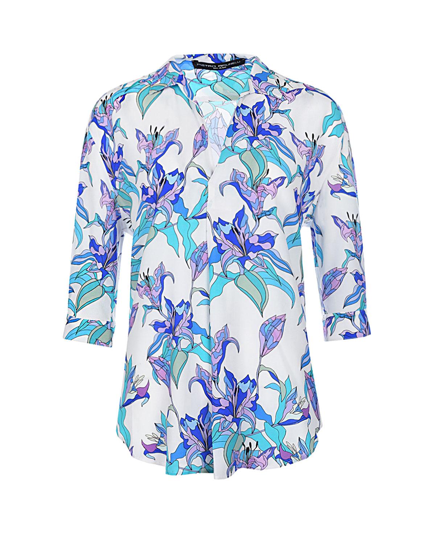 Купить Блуза для беременных с принтом Лилии Pietro Brunelli, Мультиколор, 100%вискоза