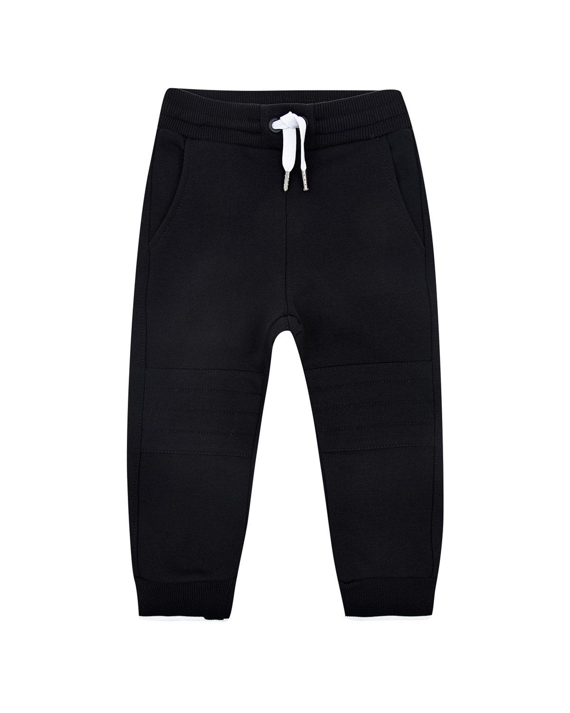 Купить Спортивные брюки с цветным логтипом Givenchy детские, Черный, 98%хлопок+2%эластан, 86%хлопок+14%полиэстер, 97%полиамид+3%эластан