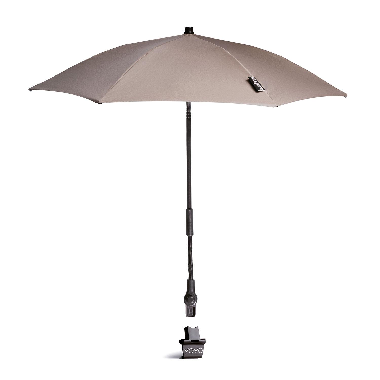 Купить Зонт от солнца Кротовый / YOYO Parasol - Taupe BABYZEN, Нет цвета, 100% пластик, 100% текстиль, 100% металл