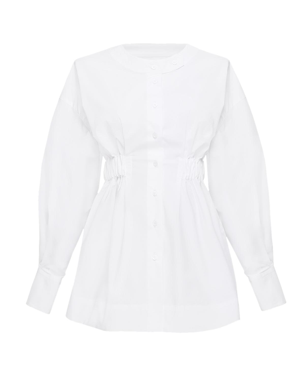 Купить Белая блузка для беременных Monamoon