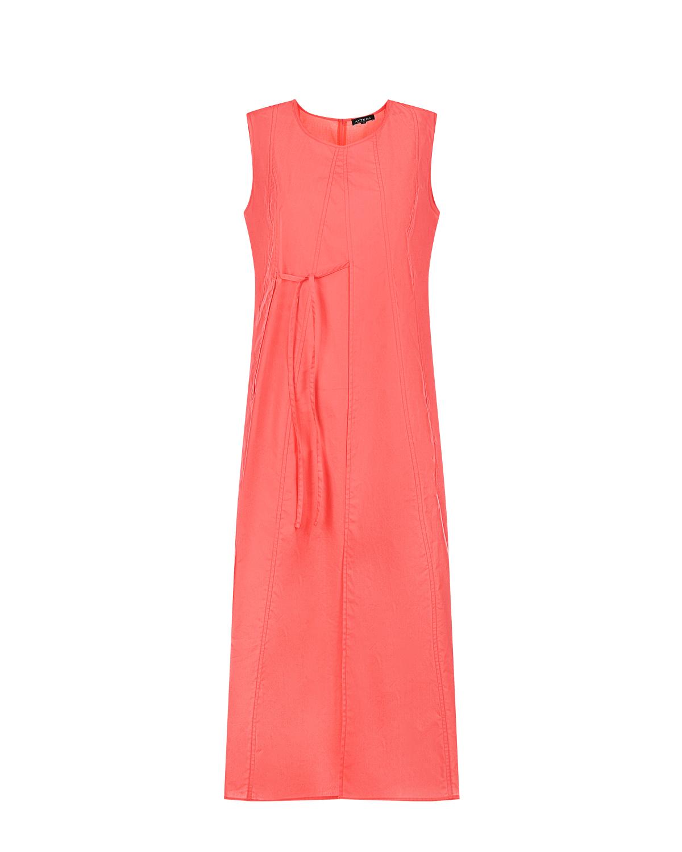 Платье для беременных кораллового цвета Attesa красного цвета