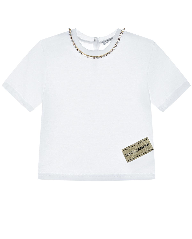 футболка dolce & gabbana для девочки