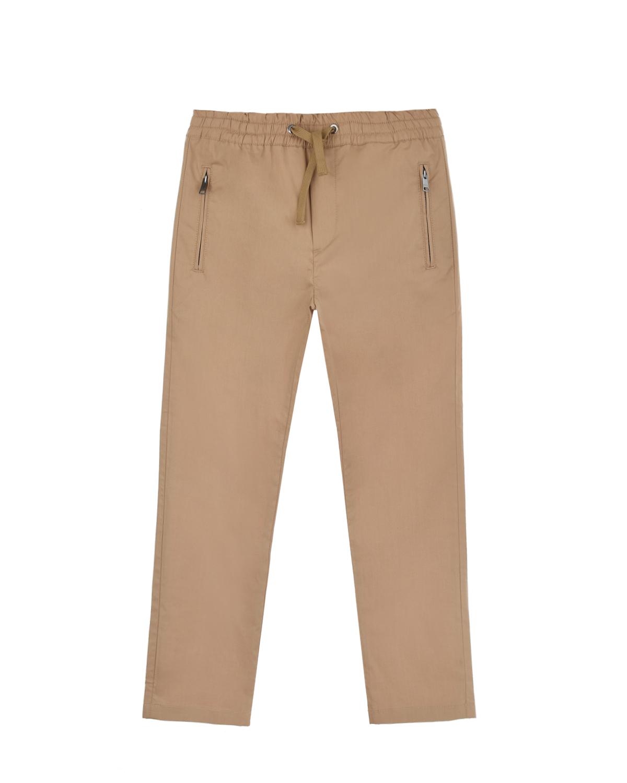 Купить со скидкой Бежевые брюки Dolce&Gabbana детские