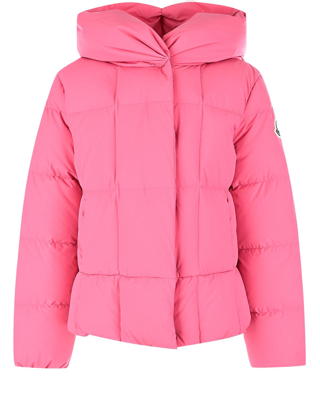 куртка с капюшоном moncler для девочки