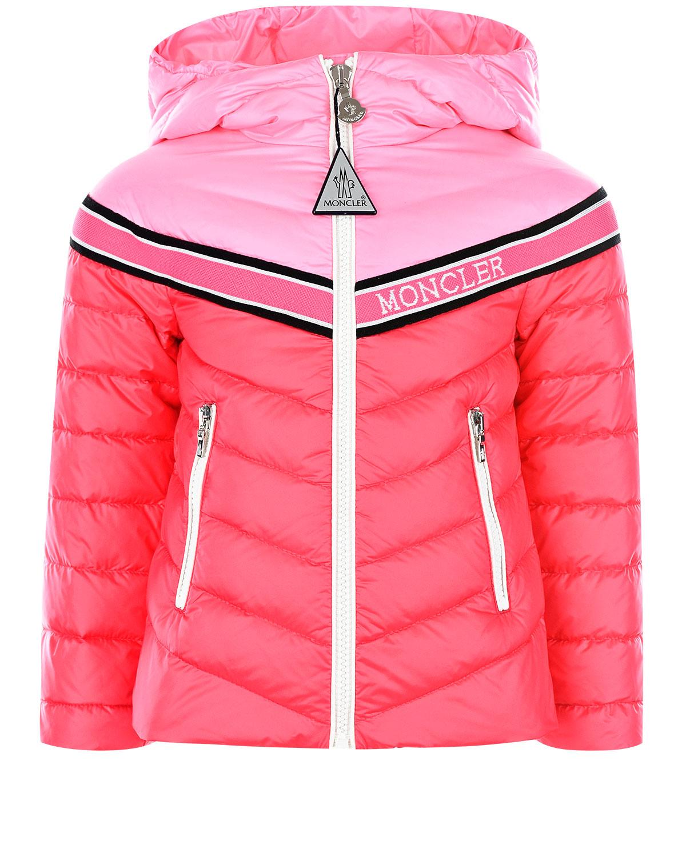 куртка стеганные moncler для девочки
