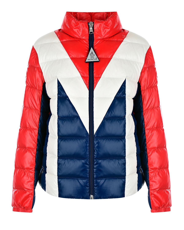 куртка стеганные moncler для мальчика