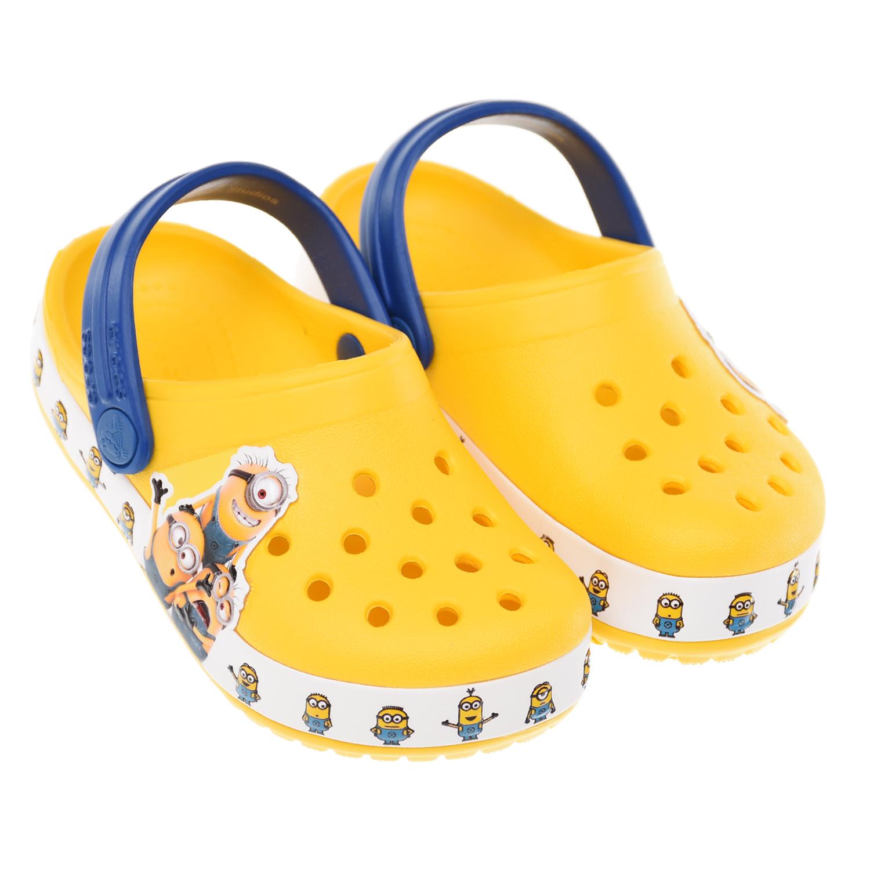 Желтые сланцы Миньоны Crocs.