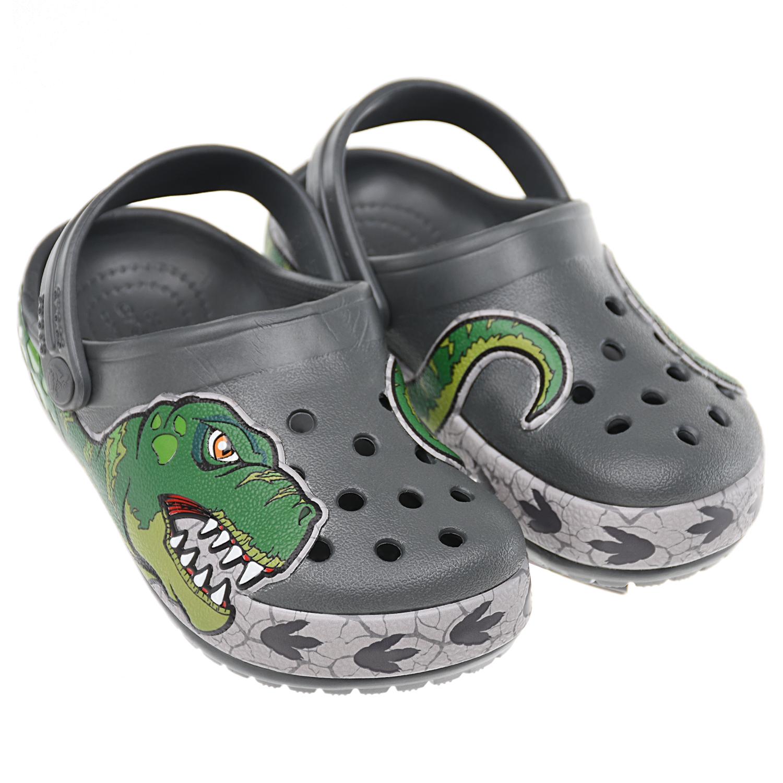 Сланцы с принтом Динозавр Crocs.
