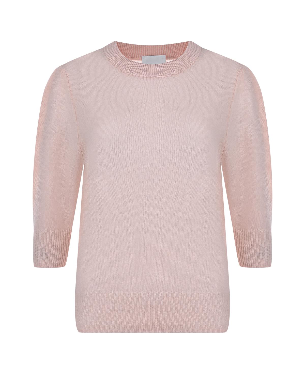 Купить Розовый джемпер из кашемира Allude, Нет цвета, 100%кашемир