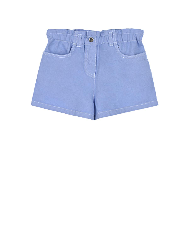 Купить Сиреневые шорты Emporio Armani детские, Сиреневый, 61%хлопок+39%лиоцелл