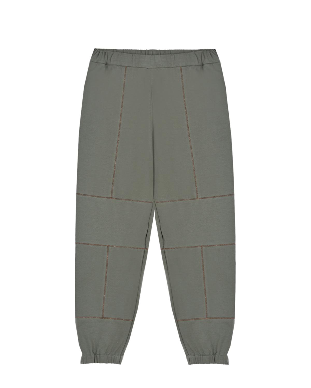 спортивные брюки brunello cucinelli для девочки