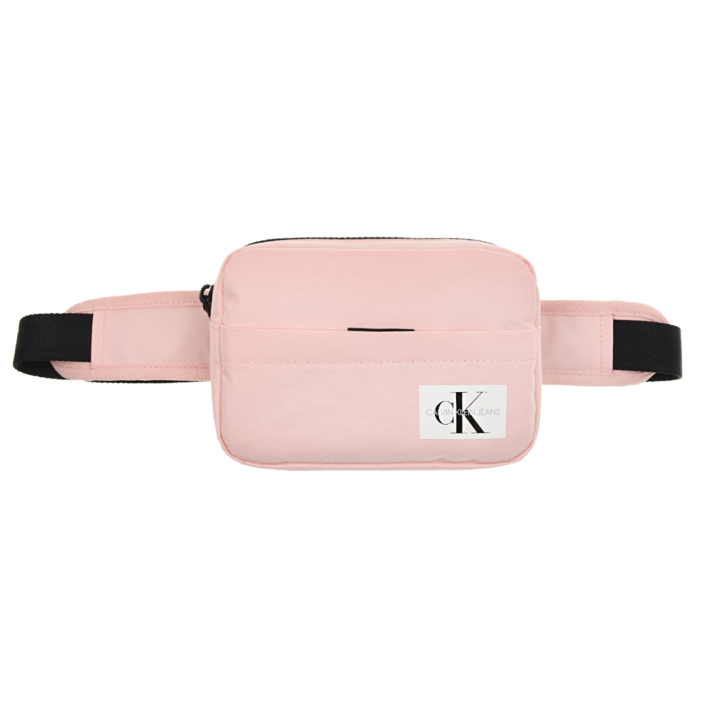 Розовая сумка-пояс с логотипом, 19x12x4 см Calvin Klein детская цвет нет цвета