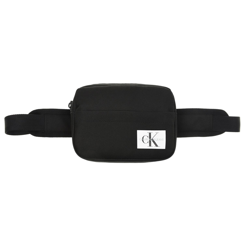 Черная сумка-пояс с логотипом, 19x12x4 см Calvin Klein детская черного цвета