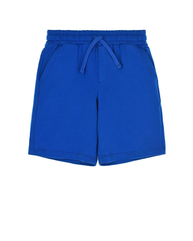 Купить Синие шорты из тонкого трикотажа Dolce&Gabbana детские, Нет цвета, 100%хлопок
