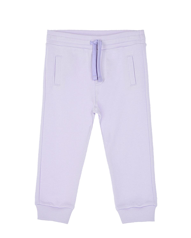 Купить Спортивные брюки лавандового цвета Dolce&Gabbana детские, Нет цвета, 100%хлопок, 95%хлопок+5%эластан