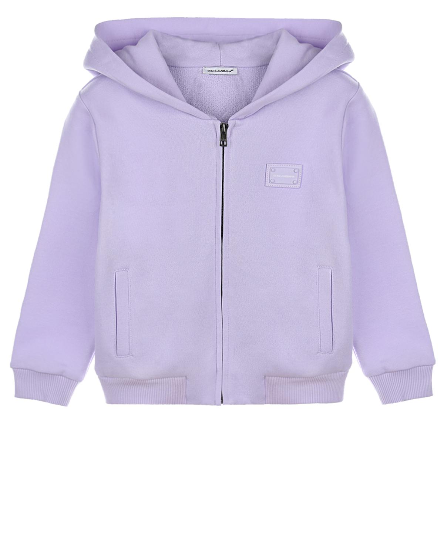 Купить Спортивная куртка с капюшоном Dolce&Gabbana детская, Нет цвета, 100%хлопок, 95%хлопок+5%эластан