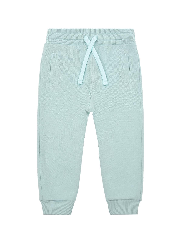 Купить Спортивные брюки мятного цвета Dolce&Gabbana детские, Мятный, 100%хлопок, 95%хлопок+5%эластан