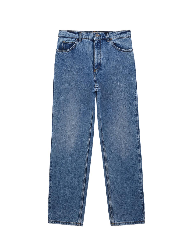 Купить Голубые брюки из денима GUCCI детские, Голубой, 100%хлопок, 95%полиэстер+5%вискоза