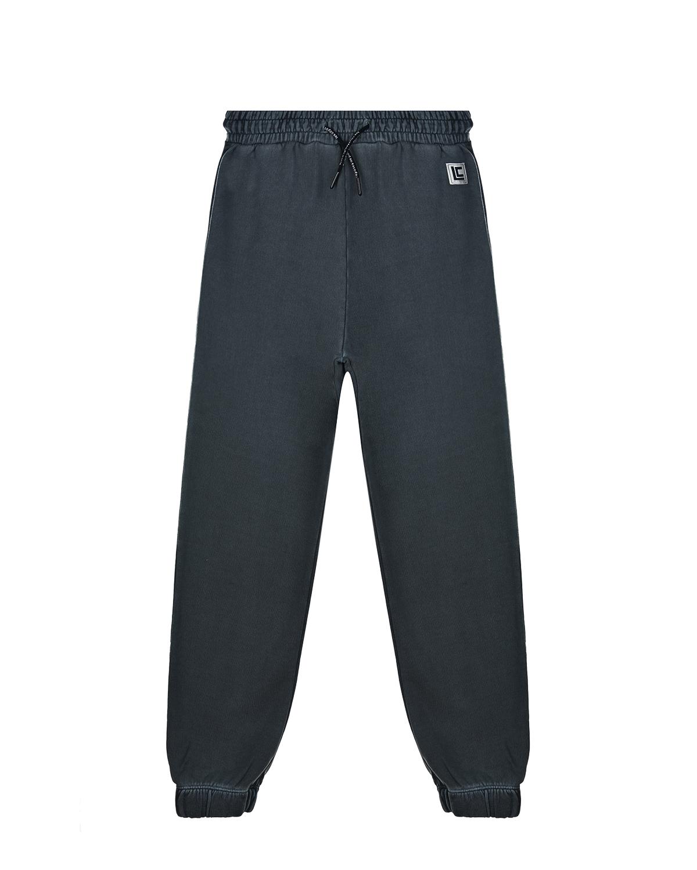 Купить Серые спортивные брюки Les Coyotes de Paris детские, Серый, 100% хлопок