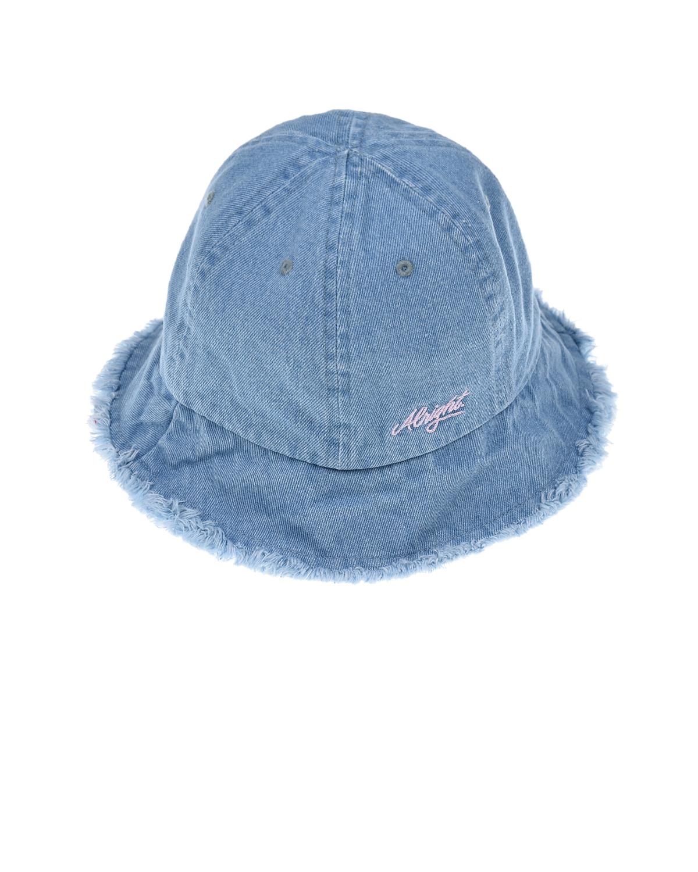 Купить Голубая джинсовая панама MaxiMo детская, Голубой, 100%хлопок