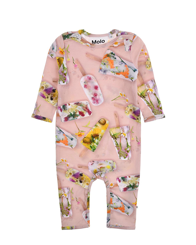Купить Комбинезон Fiona Ice Lollies Molo детский, Розовый, 95% хлопок+5% эластан