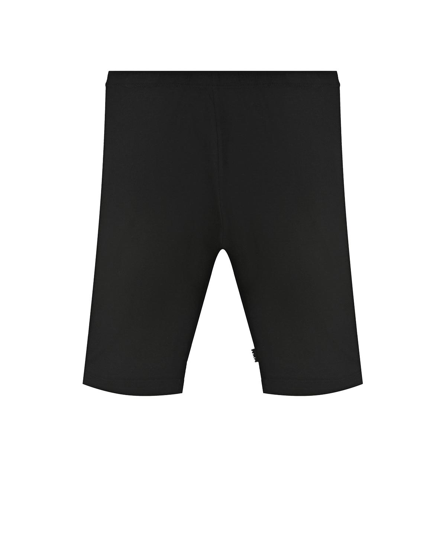 Купить Черные шорты-велосипедки Molo детские, Черный, 95% хлопок+5% эластан