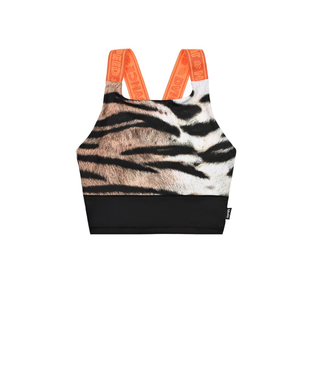 Купить Топ Oliva Wild Tiger Molo детский, Мультиколор, 79%полиэстер+21%%эластан, 100%полиэстер