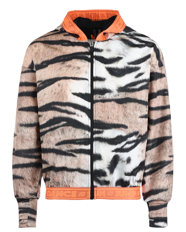 Купить Спортивная куртка Ophelia Wild Tiger Molo детская, Мультиколор, 100%полиэстер