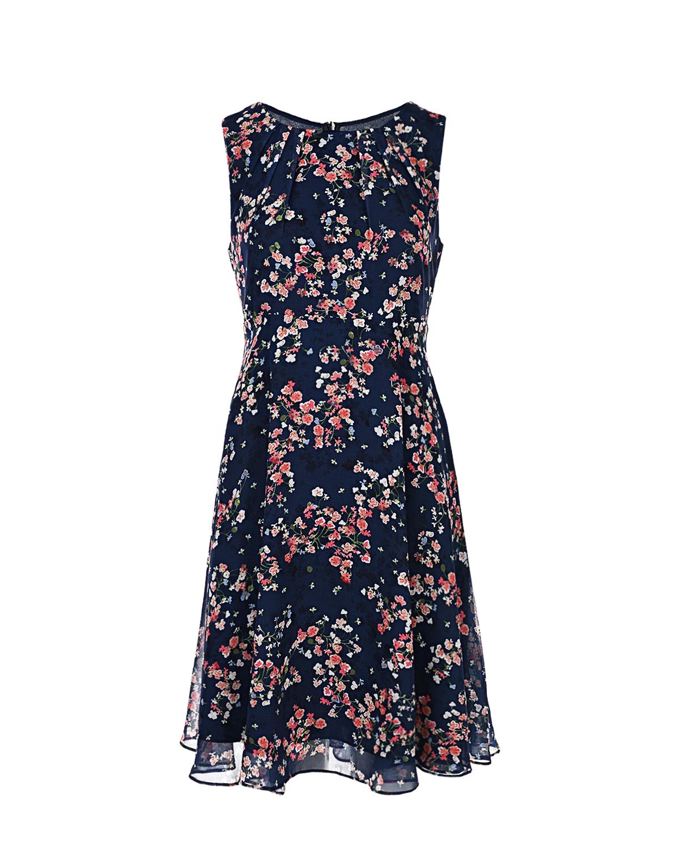 Купить Синее платье для беременных Tamigi Pietro Brunelli, Синий, 100% полиэстер