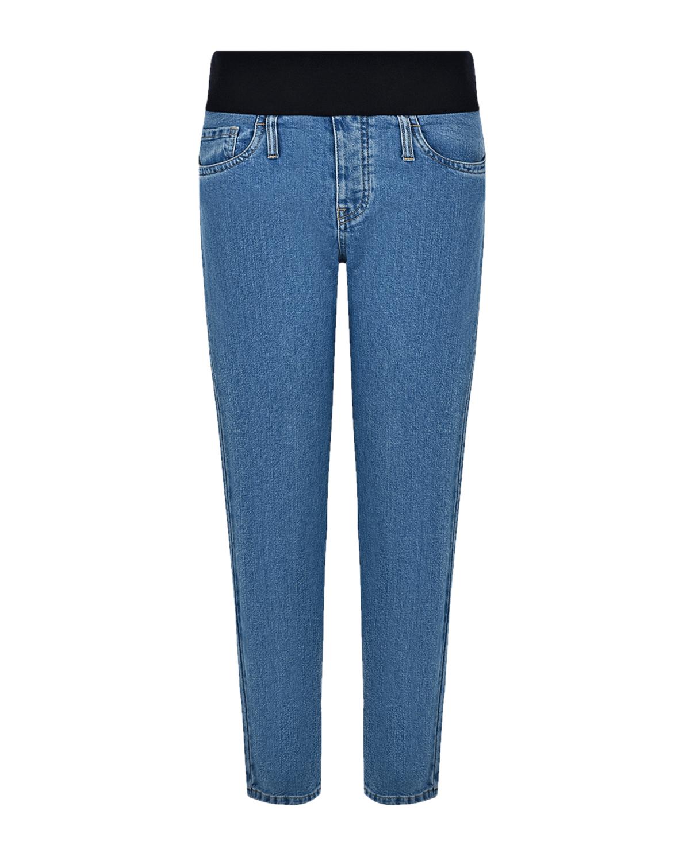 Купить Голубые джинсы для беременных MUM JEANS Pietro Brunelli, Голубой, 98%хлопок+2%эластан