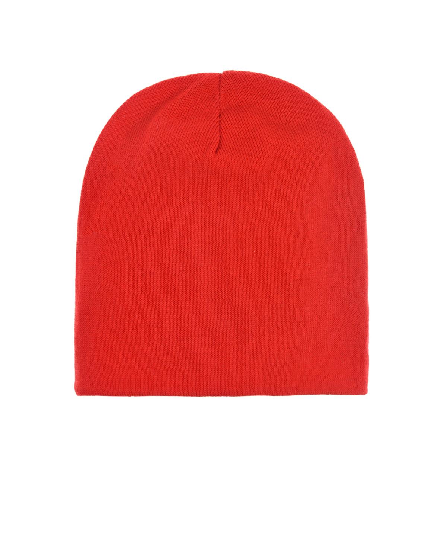 Купить Однотонная красная шапка Regina детская, Красный, 100%хлопок