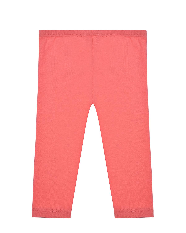 Купить Розовые леггинсы Sanetta Kidswear детские, Красный, 95% хлопок+5% эластан