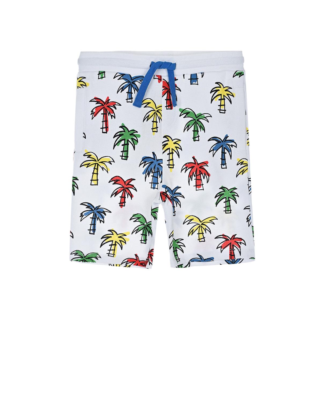 Купить Шорты на завязках Stella McCartney детские, Белый, 100%хлопок, 98%хлопок+2%эластан
